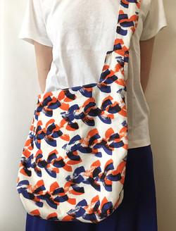 """Textile """"two birds"""" © mina chape"""