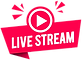 live-stream-label-modern-web-banner-with