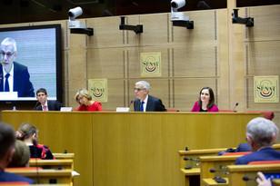 Audition de Mme Valérie PÉCRESSE, présidente de la Région Île-de-France, sur le Grand Paris et sur l