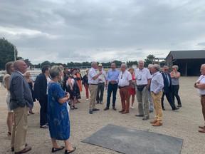 Journée des maires sarthois à l'hippodrome des Hunaudières