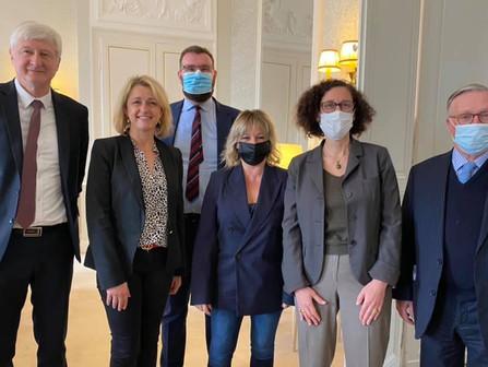 #Sarthe :  visite ministérielle, le logement à l'honneur