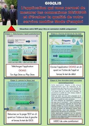 Aidez-nous à mesurer la couverture mobile sur la Sarthe via une application gratuite