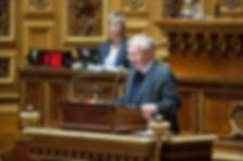 Sénateur question orale Hémicycle Sénat Paris