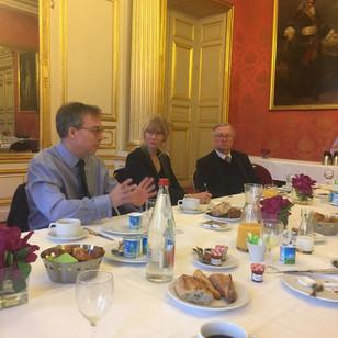Rencontre avec l'ambassadeur du Royaume-Uni au Sénat