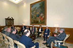 Délégation de sénateurs à Lisbonne