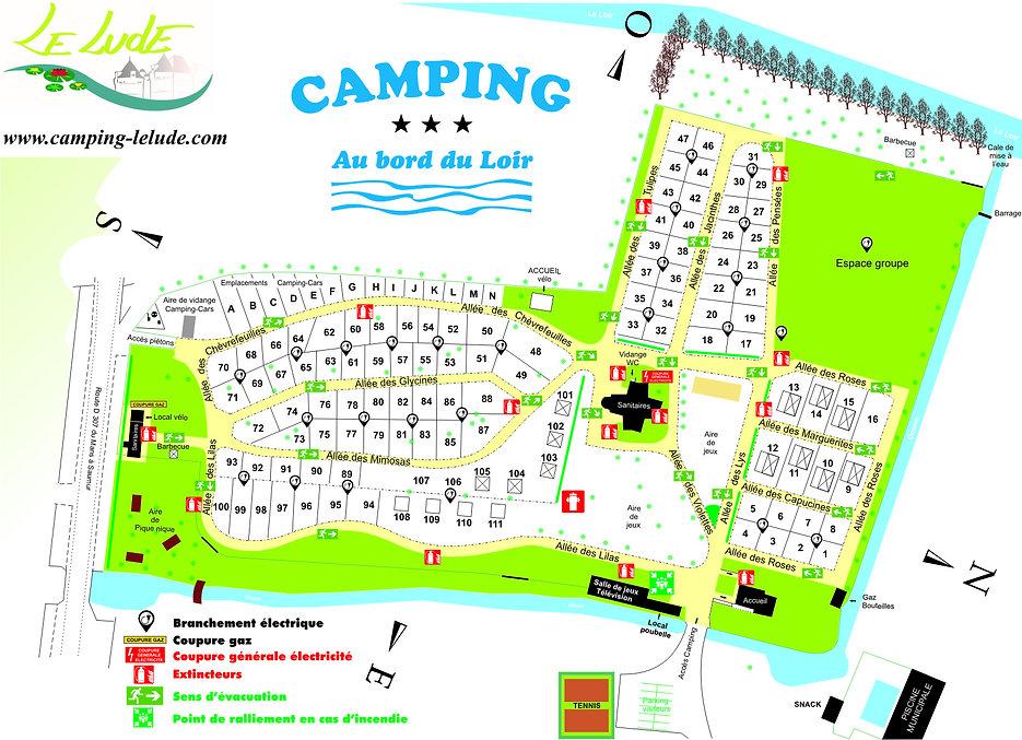 Sarthe Camping Au Bord du Loir*** - Le Lude