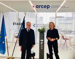 Rencontre avec la présidente de l'ARCEP