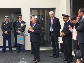 Inauguration de la Caserne de Gendarmerie Nationale de Connerré