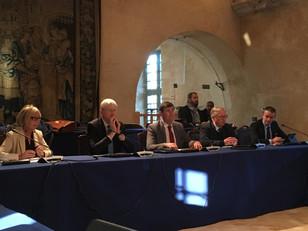 Conférence de Presse de l'AVICCA à l'Abbaye de l'Epau