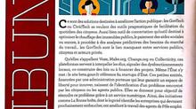 """Tribunes dans la Revue du Trombinoscope sur """"Civictech et Govtech : des outils de facilitation&"""
