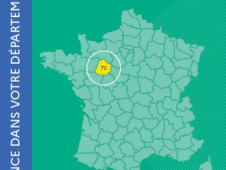 ANCT : Fiche données territoires - Département de la Sarthe