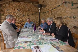 A Asnière-sur-Vègre en soutien aux élus pour le Village préféré des Français 2018
