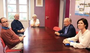 Un mois d'août Sarthois à la rencontre des maires.