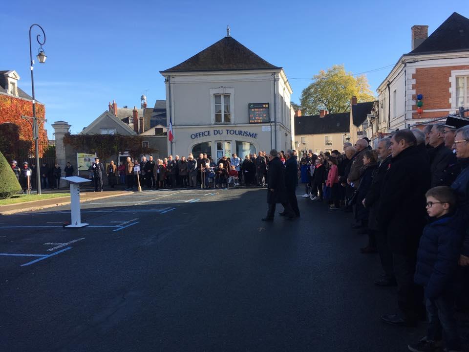 cérémonie du 11 novembre 2016