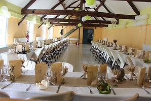 Vaunaval - Le Lude - Sarthe - réception - gîte de groupes - mariage - salle des fêtes