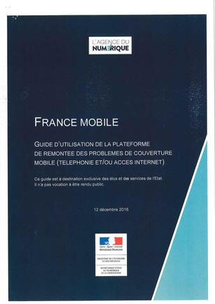 France Mobile: Mobilisation des Maires de la Sarthe