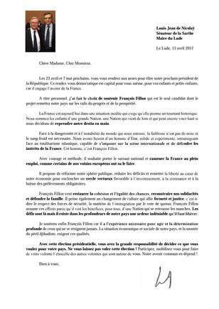 Pourquoi j'ai choisi de soutenir François Fillon