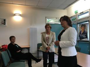 Réunion de campagne législative de Béatrice Pavy-Morançais