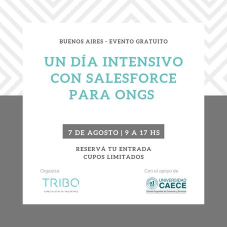 Un día intensivo con Salesforce para ONGs