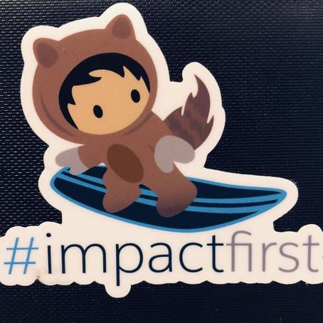 Impacto primero - Nonprofit Keynote en Dreamforce´18