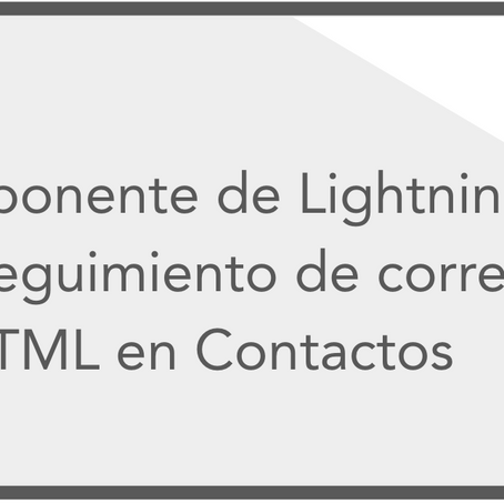 Estado de correos HTML en Lighting