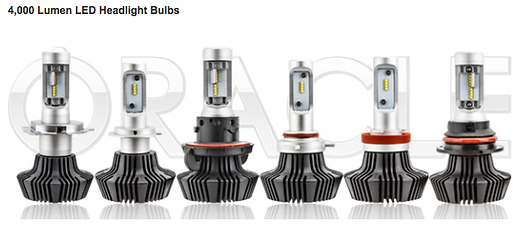 Oracle LED Headlights