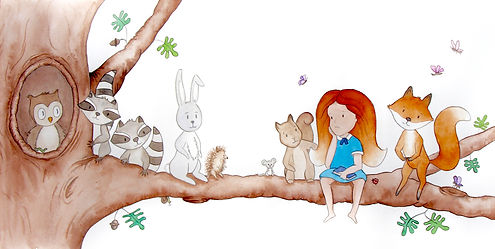 Illustration by Belinda Ryan from Florence Fox Goes To School by Ben Whittacker-Cook