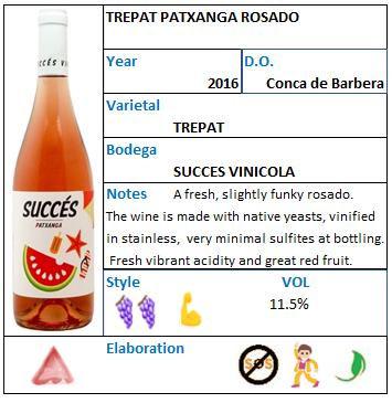 Succes vinicola Patxanga Rosado.jpg