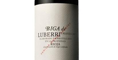 Biga de Luberri Crianza, Rioja 6pk  was $45  NOW $31.50 per btl