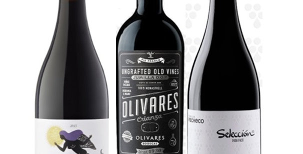 3 Full bodied Spanish Reds 6 pack was $48 NOW $33.60 per bottle