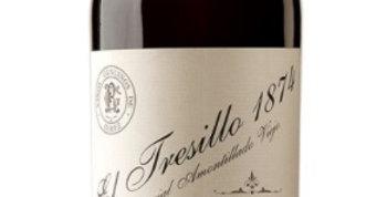 Emilio Hidalgo 1847 EL TRESILLO Amontillado was $220  Now $154