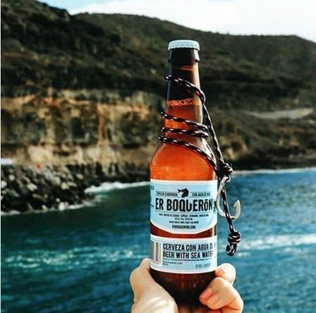 Er Boqueron Cerveza Sea Water Beer Spain