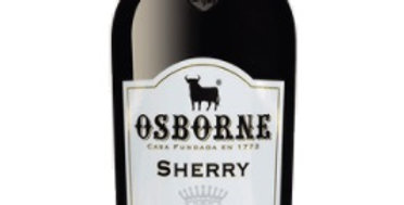 Osborne Cream Sherry 750ml  was 35 Now $24.50