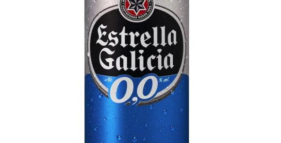 Estrella Galicia 0.0 alc CANS  330ml 24pk $1.88 per bottle