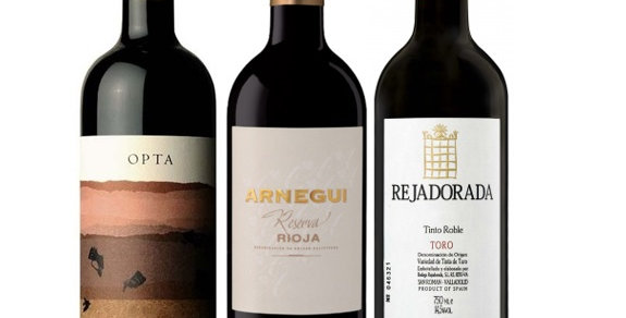 3 Spanish Tempranillo  6pk was $41 NOW $28.23 per btl