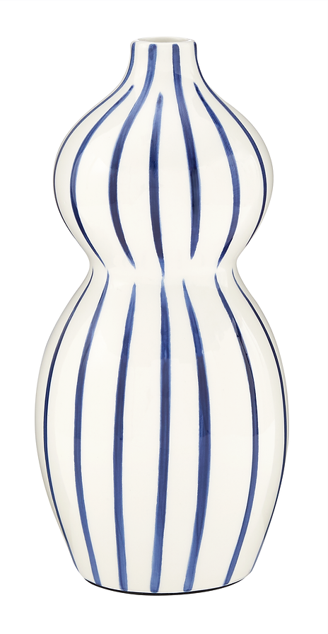 Grace Linear Stripe Vase, £20.tif