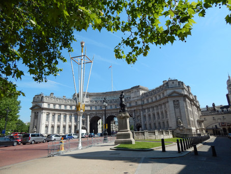London: The New Admiralty Arch