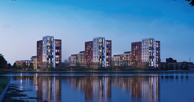 Meridian Waterside - New Apartments for