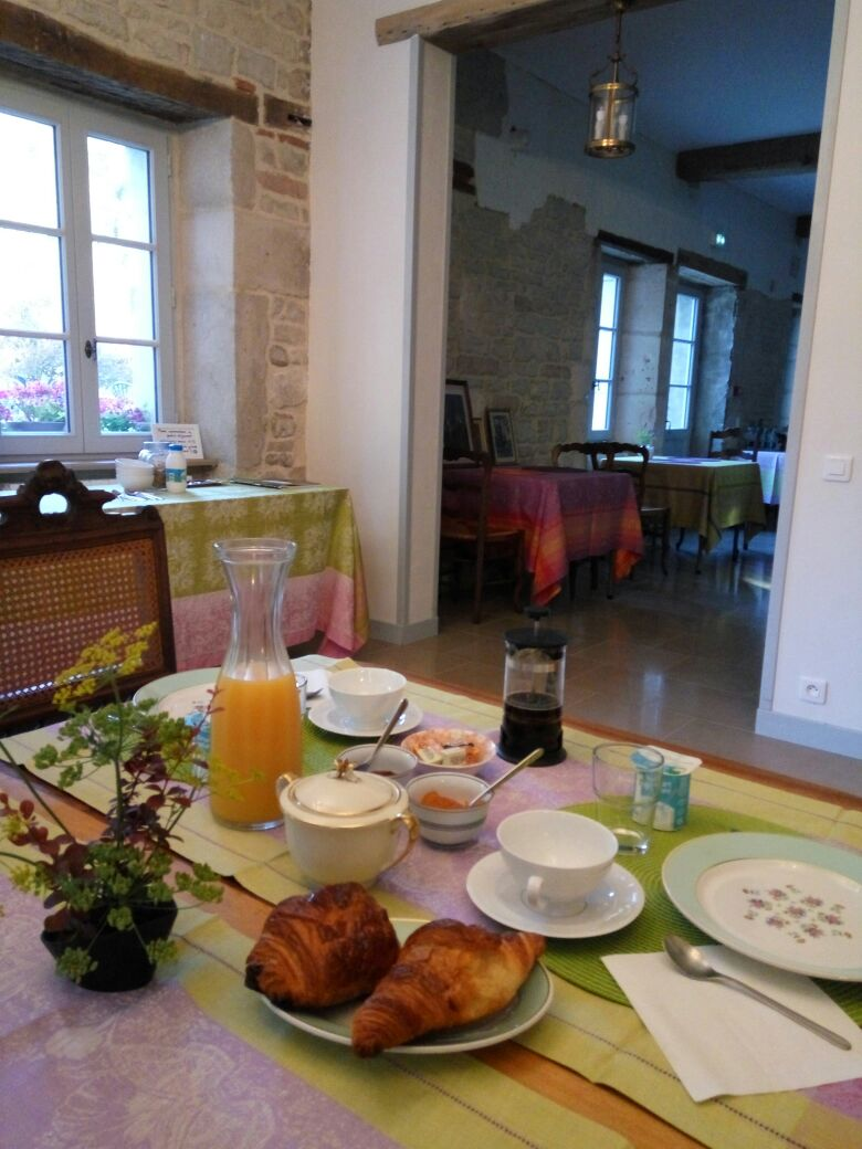 Le petit-déjeuner sur commande.