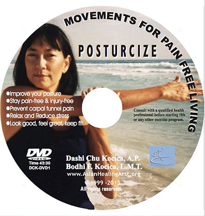DVD: POSTURCIZE PART I:  Movements for Pain-free Living