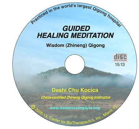 AUDIO COMPANION CD English:  Guided Healing Meditation- Wisdom Qigong, Level I