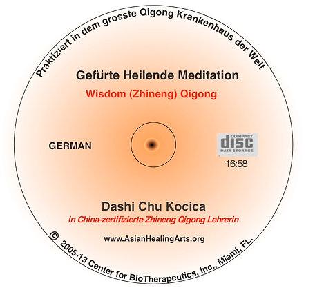 AUDIO COMPANION CD Deutsch:  GEFUERTE HEILENDE MEDITATION, Wisdom Qigong Level I