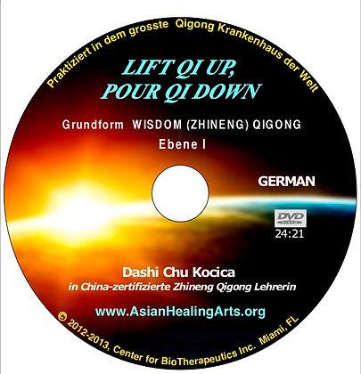 DVD German- LIFT QI UP, POUR QI DOWN