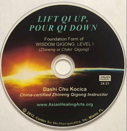 DIGITAL DVD:  LIFT QI UP POUR QI DOWN, English