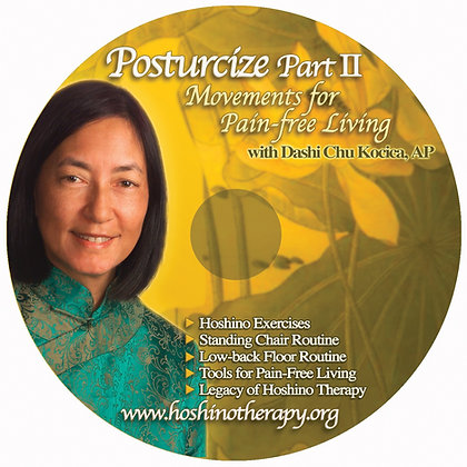 DVD: POSTURCIZE PART II: Movements for Pain-free Living
