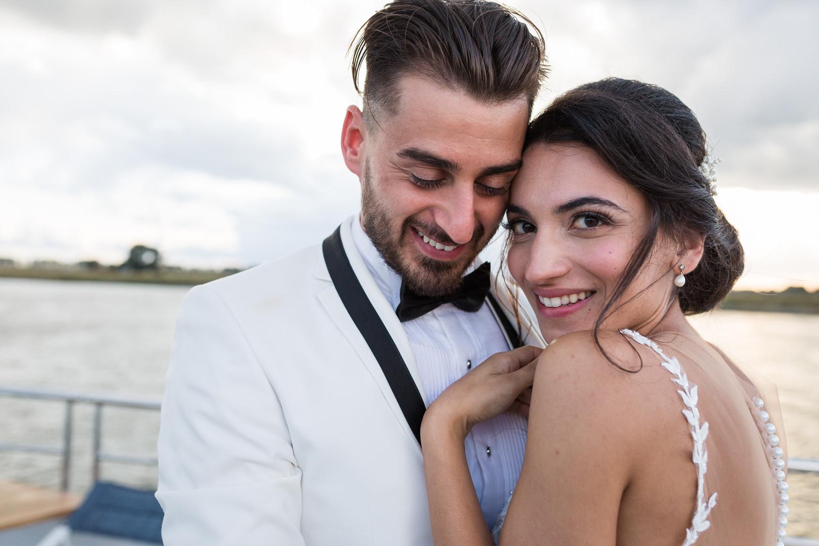 Turkse bruiloft boot Rotterdam