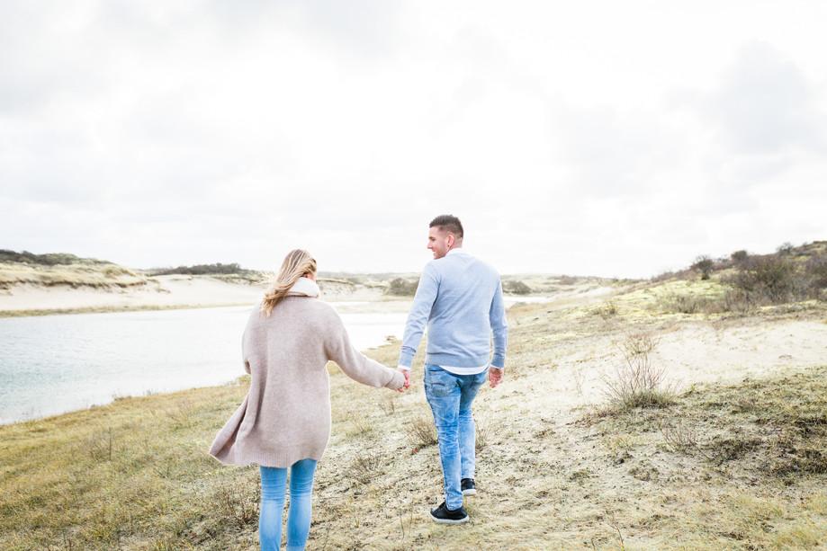 Loveshoot duinen Wassenaar