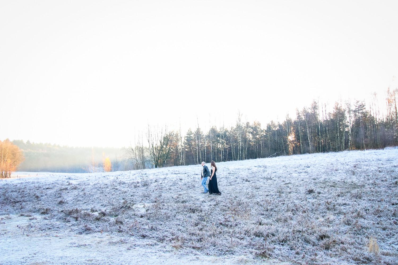 Loveshoot winter sneeuw