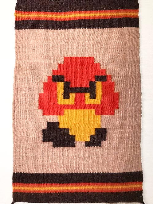 Pixel Art Banner: Goomba