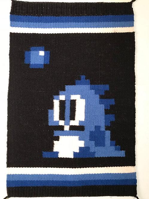 Pixel Art Banner: Bubble Bobble